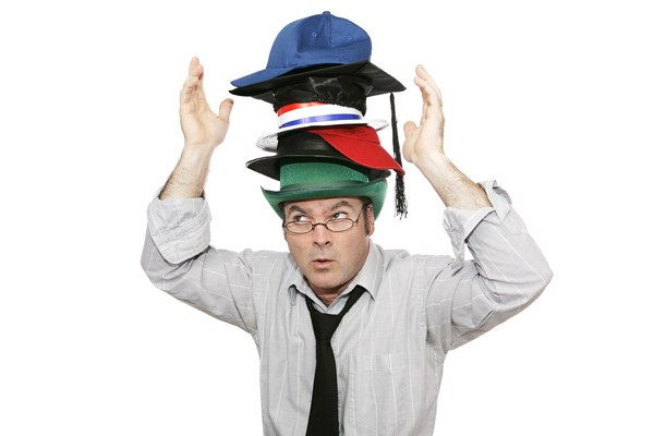 How Many Hats Are You Trying to Wear? | Time Management Ninja