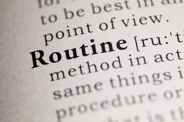 Routine Same