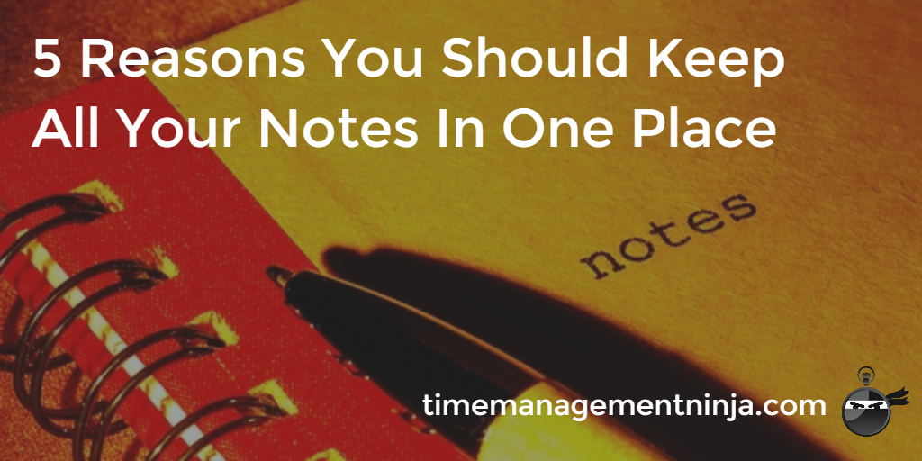 Notes in one place