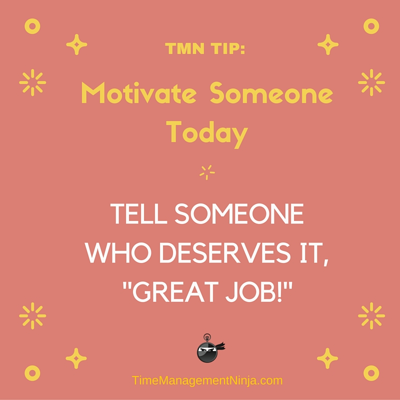 Motivate Someone Today